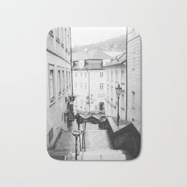 Streets Of Prague Bath Mat