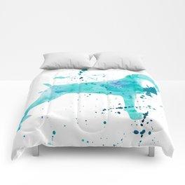 BLUE WATER WEIMARANER Comforters