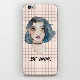 Be Uniq. iPhone Skin