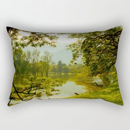 Breezy spring Rectangular Pillow