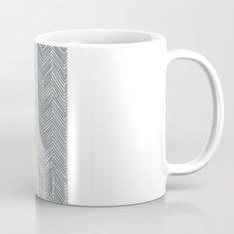 Freeform Arrows in navy Coffee Mug