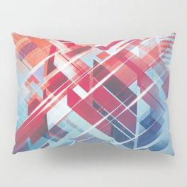 Future Cityscape Pillow Sham