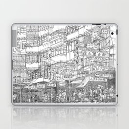 Hong Kong. Kowloon Walled City Laptop & iPad Skin