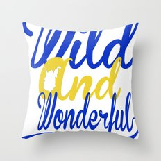 Wild and Wonderful WV Throw Pillow