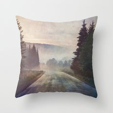 Road trippin Throw Pillow
