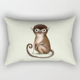 Squirrel Monkey Rectangular Pillow