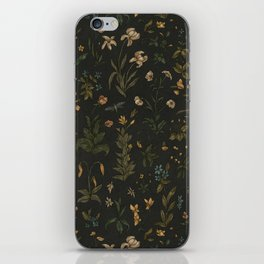 Old World Florals iPhone Skin