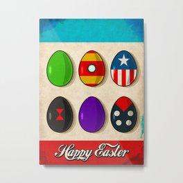 Super Easter Metal Print
