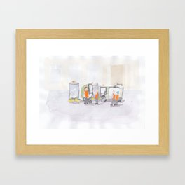 Well Wishers Framed Art Print