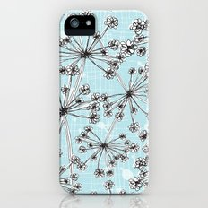 Contemporary Cow Parsley  Slim Case iPhone (5, 5s)