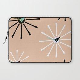 Fifties Kitchen Peach Pattern Laptop Sleeve