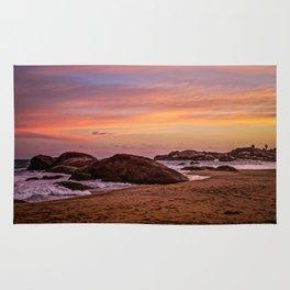 Sunset over Sri Lanka Rug