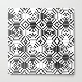 Op Art 3 Metal Print