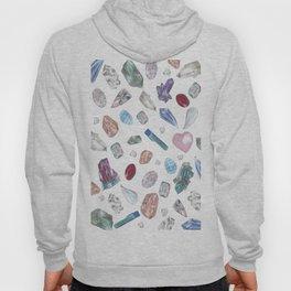 Watercolor Crystals Hoody