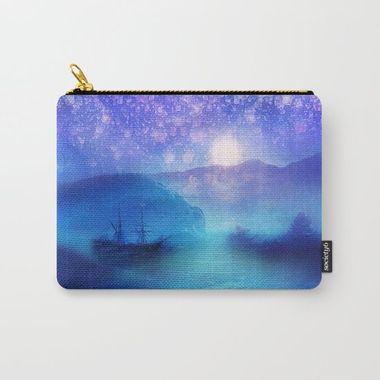 Fantasy in Blue. Carry-All Pouch