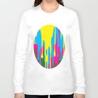 jewish Long Sleeve T-shirts featuring The paint has left the building by Brown Eyed Lady