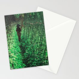 Lombok garden Stationery Cards