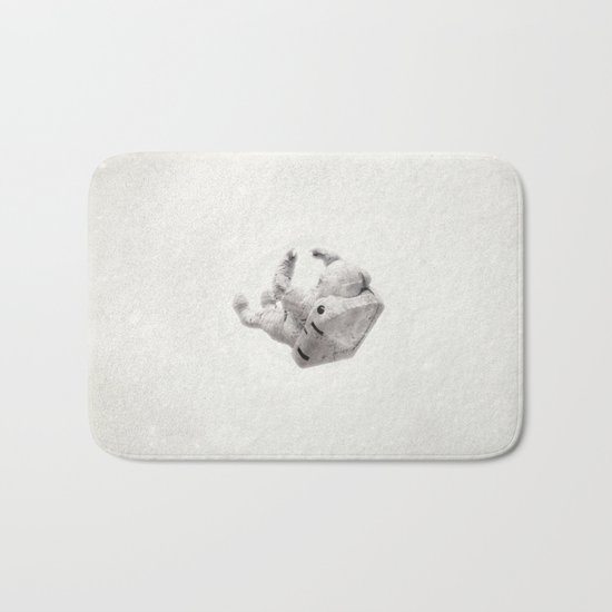 In the nothing Bath Mat
