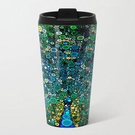 :: Peacock Caper :: Metal Travel Mug