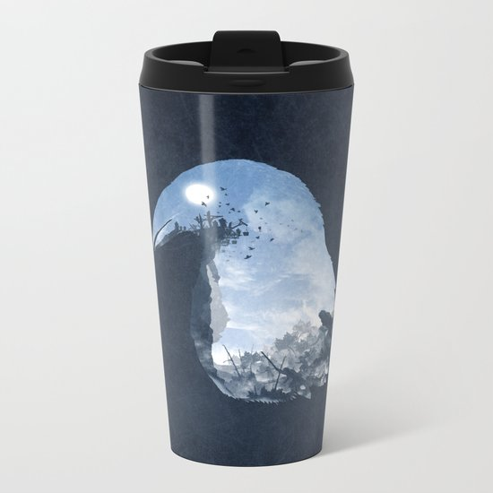Rise of the Crow Metal Travel Mug