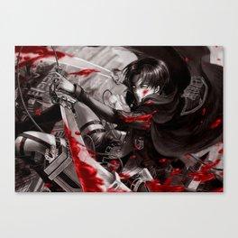 levi in monochrome Canvas Print