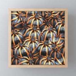 Crusta Tuatara Framed Mini Art Print