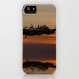 Lancaster Bomber Landfall iPhone Case