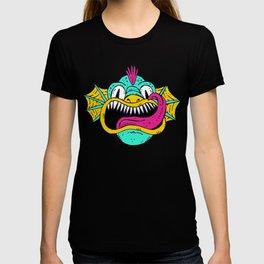 Monster Dragon Face T-shirt