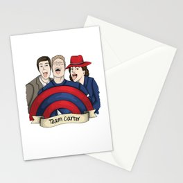 Team Carter - With Banner Stationery Cards