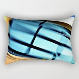 Abstract 3D Garage Door Rectangular Pillow