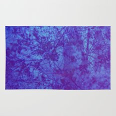 Pink & Purple Blossoms Rug