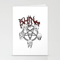 shinee Stationery Cards featuring KVLT SHINee by Julia C. Elliott