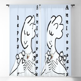 ASL Happy Anniversary! Blackout Curtain