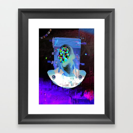 State of Shok Framed Art Print