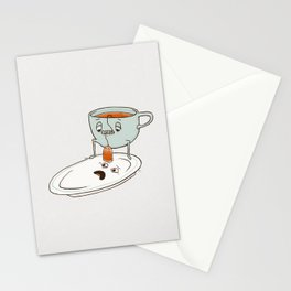 Tea Baggin' Stationery Cards