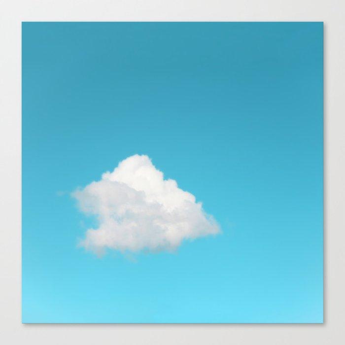 Happy Cloud Canvas Print
