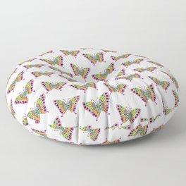 Beautiful Butterflies 1 Floor Pillow