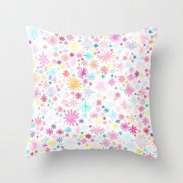 big bloom Throw Pillow