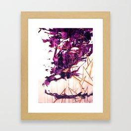 Purple Spae Framed Art Print