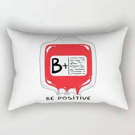Be positive Rectangular Pillow