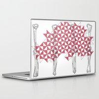 bones Laptop & iPad Skins featuring bones by Dal Sohal