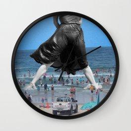 JC Beach Legs Wall Clock