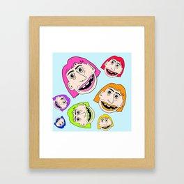 Rainbow Sister Framed Art Print