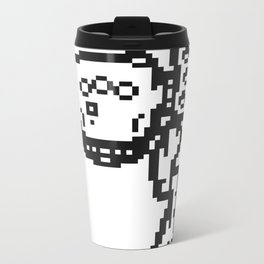 PXLBOT MECH Metal Travel Mug