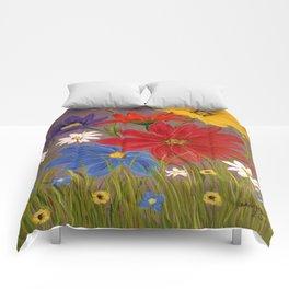 Wildflower-2 Comforters