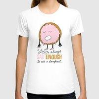 doughnut T-shirts featuring Sad Doughnut by Chris Piascik