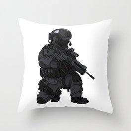 Israeli IDF Commando Operator Throw Pillow