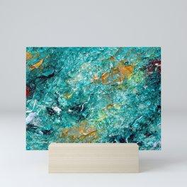 """Leprechaun's Koi Pond"" Painting Mini Art Print"