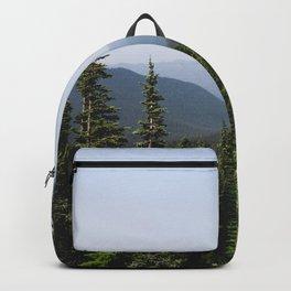 Mount Rainier Summer Adventure VII - Pacific Northwest Mountain Landscape Backpack