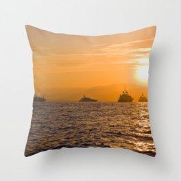 Saint Tropez 1.1 Throw Pillow